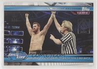 Sami Zayn Pins Kevin Owensto Win The Fatal 5-Way Match [Noted] #/1