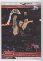 Intercontinental Champion Roman Reigns Defeats Samoa Joe