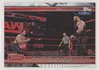 Braun Strowman Takes a Disqualification Loss Against John Cena