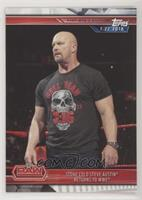 Stone Cold Steve Austin Returns to WWE