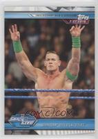 John Cena Defeats AJ Styles