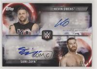 Kevin Owens, Sami Zayn #/10