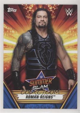2019 Topps WWE Summerslam - [Base] - Blue #14 - Roman Reigns /99