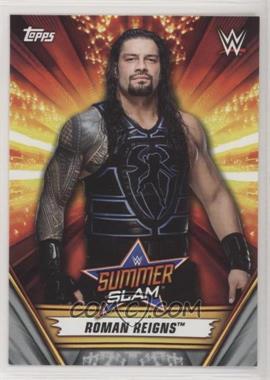 2019 Topps WWE Summerslam - [Base] - Silver #14 - Roman Reigns /25