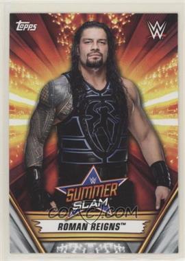 2019 Topps WWE Summerslam - [Base] #14 - Roman Reigns