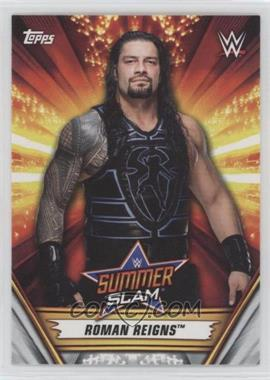 2019 Topps WWE Summerslam - [Base] #14 - Roman Reigns