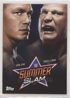John Cena, Brock Lesnar