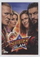 Brock Lesnar, Alexa Bliss, Ronda Rousey, Roman Reigns