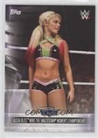 Alexa Bliss Wins The Smackdown Women's Championship [EXtoNM]