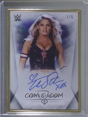 2019 Topps WWE Transcendent Collection - Transcendent Collection Autographs - Black #A-TS - Trish Stratus /5