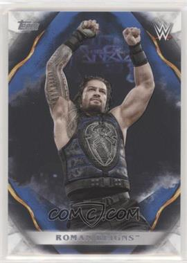 2019 Topps WWE Undisputed - [Base] - Blue #55 - Roman Reigns /25