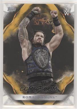 2019 Topps WWE Undisputed - [Base] - Gold #55 - Roman Reigns /10
