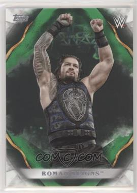 2019 Topps WWE Undisputed - [Base] - Green #55 - Roman Reigns /50