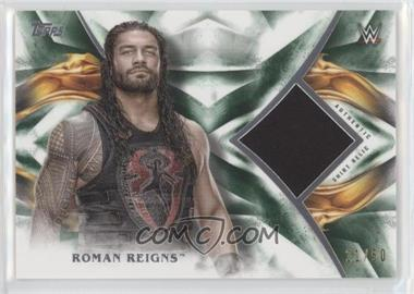2019 Topps WWE Undisputed - Relics - Green #UR-RR - Roman Reigns /50