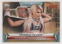 Memorable Matches and Moments - Alexa Bliss  Cashes in On Nia Jax #/75