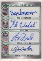 The Barbarian, Warlord, Demolition Ax, Demolition Smash #/5