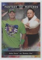 Samoa Joe, John Cena