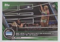 WWE Women's Tag Team Champions Alexa Bliss & Nikki Cross def. The IIconics #/75