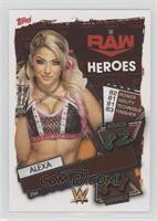 RAW Heroes - Alexa Bliss