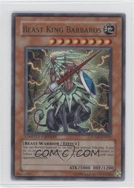 2002-Now Yu-Gi-Oh! - Shonen Jump Magazine Promos #JUMP-EN032 - Beast King Barbaros