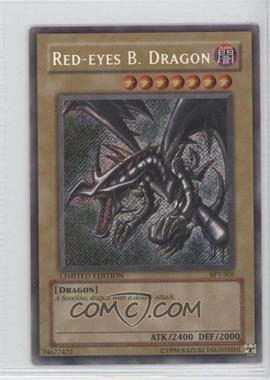 2002 Yu-Gi-Oh! Booster Pack Tins Series 1 - Limited Edition Promos #BPT-005 - Red-Eyes B. Dragon