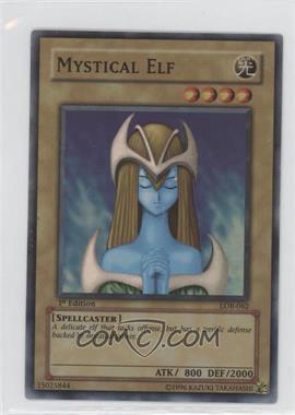 "2002 Yu-Gi-Oh! Legend of Blue Eyes White Dragon - Booster Pack [Base] - 1st Edition ""Asian American"" Back #LOB-062 - Mystical Elf"