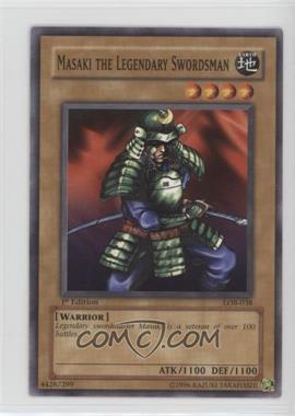 2002 Yu-Gi-Oh! Legend of Blue Eyes White Dragon - Booster Pack [Base] - 1st Edition #LOB-038 - Masaki the Legendary Swordsman