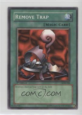 2002 Yu-Gi-Oh! Legend of Blue Eyes White Dragon - Booster Pack [Base] - 1st Edition #LOB-060 - Remove Trap