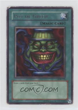 2002 Yu-Gi-Oh! Legend of Blue Eyes White Dragon - Booster Pack [Base] - Unlimited #LOB-119 - Pot of Greed