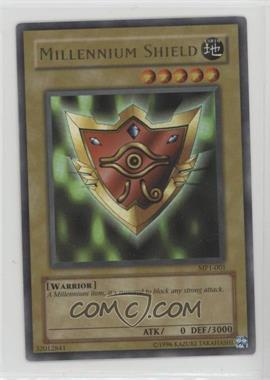 """2002 Yu-Gi-Oh! McDonald's Promotional Series 1 - Happy Meal """"Toy"""" [Base] #MP1-001 - Millennium Shield"""