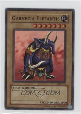 2002 Yu-Gi-Oh! Metal Raiders - Booster Pack [Base] - Unlimited #MRD-125 - Garnecia Elefantis [Noted]