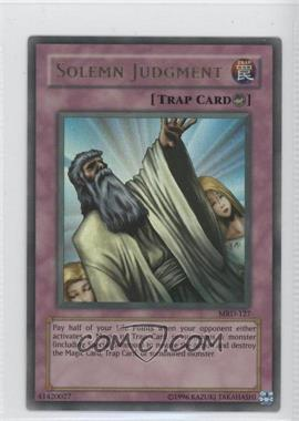 2002 Yu-Gi-Oh! Metal Raiders - Booster Pack [Base] - Unlimited #MRD-127 - Solemn Judgment