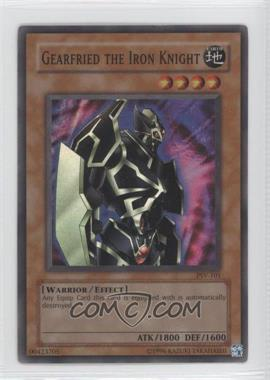 2002 Yu-Gi-Oh! Pharaoh's Servant - Booster Pack [Base] - Unlimited #PSV-101 - Gearfried the Iron Knight