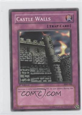 2002 Yu-Gi-Oh! Starter Deck Kaiba - [Base] - 1st Edition #SDK-049 - Castle Walls