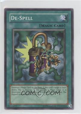 2002 Yu-Gi-Oh! Starter Deck Kaiba - [Base] - Unlimited #SDK-035 - De-Spell