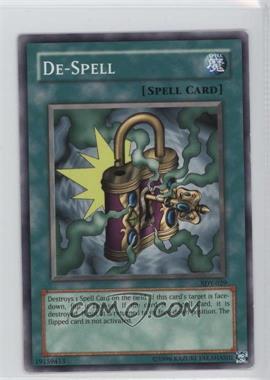 2002 Yu-Gi-Oh! Starter Deck Yugi - [Base] - Unlimited #SDY-029 - De-Spell