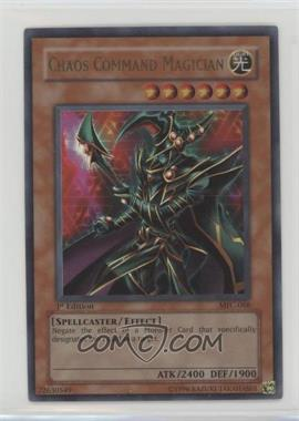 2003 Yu-Gi-Oh! Magician's Force - Booster Pack [Base] - 1st Edition #MFC-068 - Chaos Command Magician
