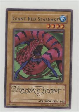 2003 Yu-Gi-Oh! Tournament Pack 4 - [Base] #TP4-007 - Giant Red Seasnake