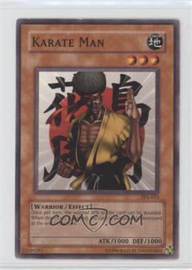 2003 Yu-Gi-Oh! Tournament Pack 4 - [Base] #TP4-013 - Karate Man [Noted]