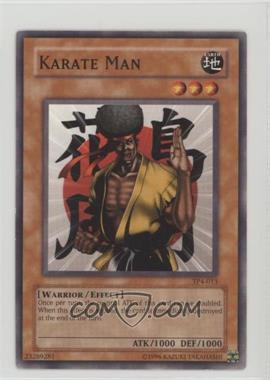 2003 Yu-Gi-Oh! Tournament Pack 4 - [Base] #TP4-013 - Karate Man