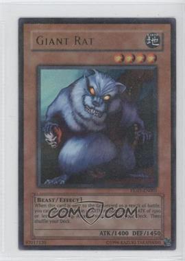 2004-2008 Yu-Gi-Oh! - Hobby League Participation Promos #HL03-EN001 - Giant Rat