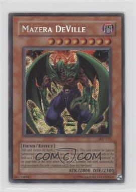 2004 Yu-Gi-Oh! Ancient Sanctuary - Booster Pack [Base] - Unlimited #AST-0111 - Mazera DeVille