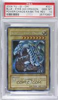 Blue-Eyes White Dragon [PSA 10 GEM MT]