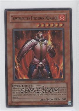 2004 Yu-Gi-Oh! Rise of Destiny - Booster Pack [Base] - Unlimited #RDS-021.1 - Thestalos the Firestorm Monarch (Super Rare)