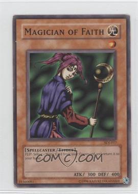 2004 Yu-Gi-Oh! Starter Deck Joey - [Base] - Unlimited #SDJ-017 - Magician of Faith