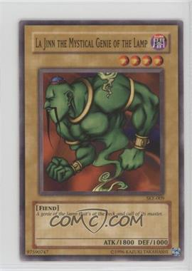 2004 Yu-Gi-Oh! Starter Deck Kaiba Evolution - [Base] - Unlimited #SKE-009 - La Jinn the Mystical Genie of the Lamp