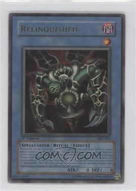 2004 Yu-Gi-Oh! Starter Deck Pegasus - [Base] - 1st Edition #SDP-001 - Relinquished