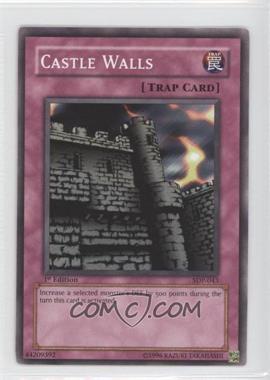 2004 Yu-Gi-Oh! Starter Deck Pegasus - [Base] - 1st Edition #SDP-043 - Castle Walls