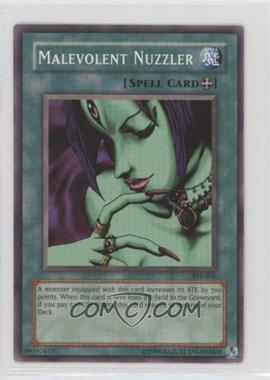 2004 Yu-Gi-Oh! Starter Deck Yugi Evolution - [Base] - Unlimited #SYE-036 - Malevolent Nuzzler