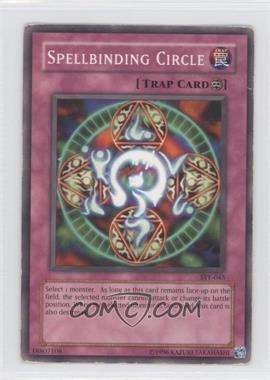 2004 Yu-Gi-Oh! Starter Deck Yugi Evolution - [Base] - Unlimited #SYE-045 - Spellbinding Circle